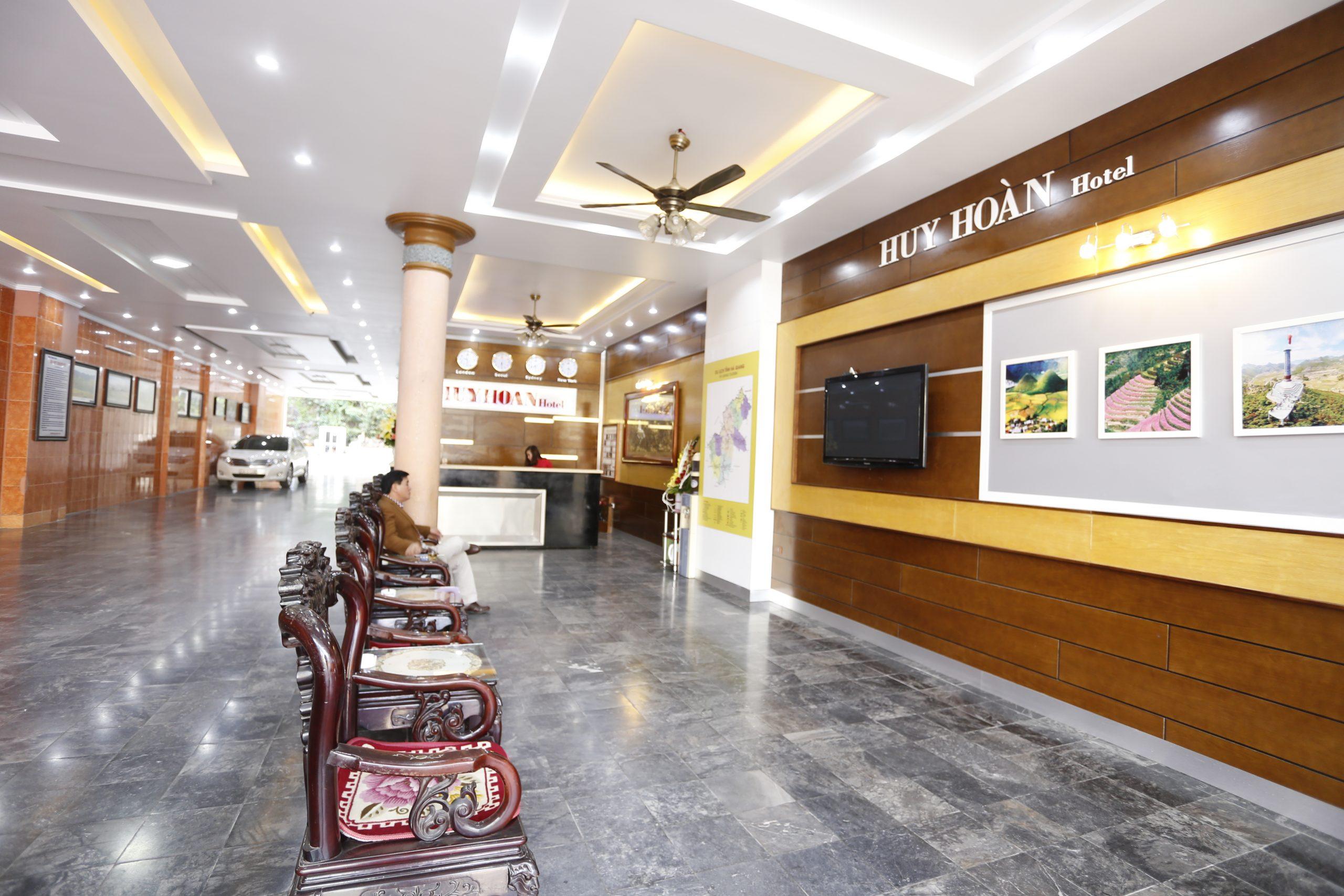 Khách sảnh Khách sạn Huy Hoàn